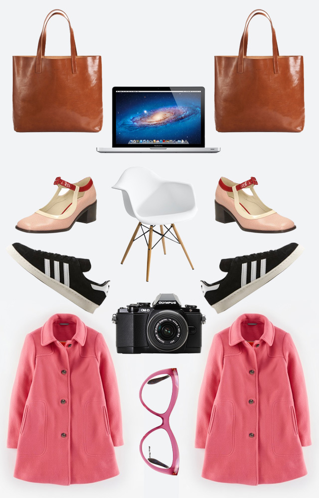 wishlist of fashion and tech items including macbook pro, olympus em10 and adidas trainers