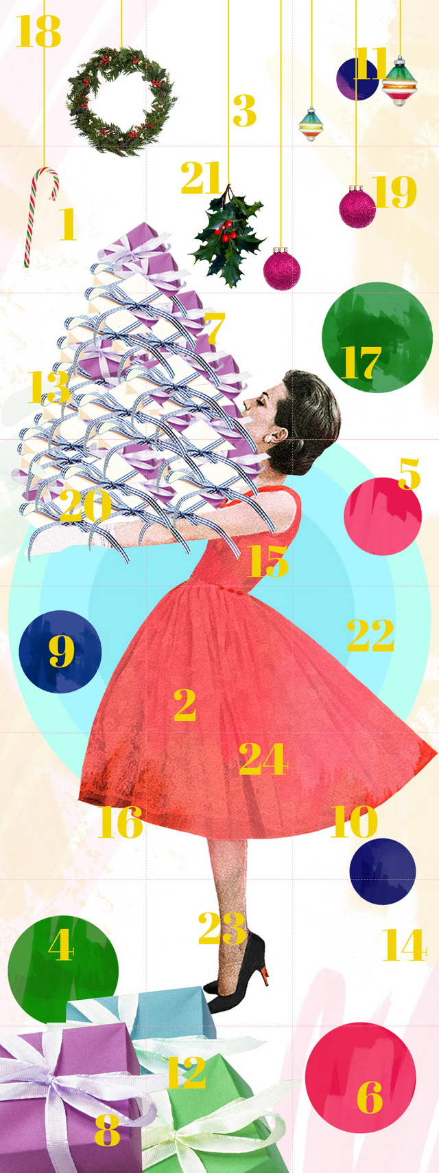 advent calendar illustration for myself.de by laura redburn » cardboardcities - creative lifestyle blog