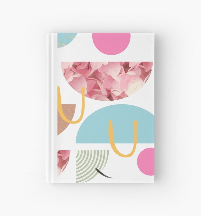shape party hardback notebook