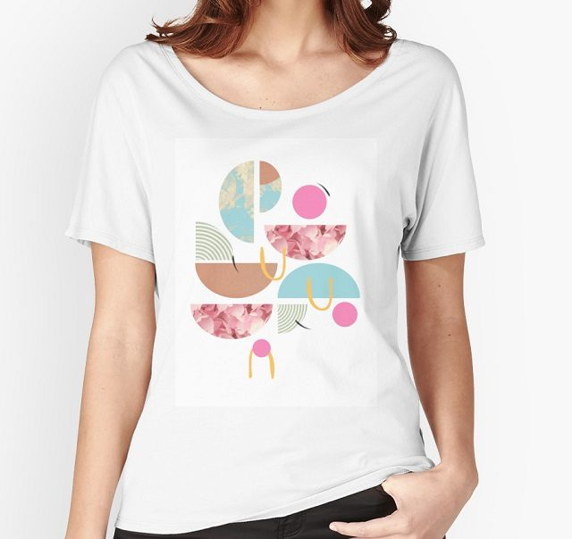 shape party relaxed fit tee